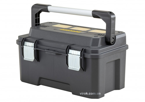 """Ящик для інструментів STANLEY """"FatMax PRO""""; 20"""", 50х 27х 24 см"""