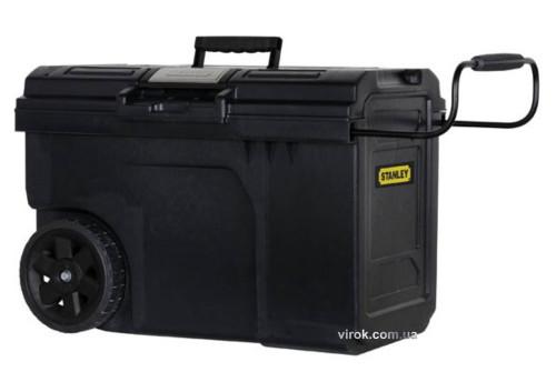 "Ящик для інструменту на 2 колесах пластиковий STANLEY ""Line Contractor Chest"" 62х 38х 42 см, 57 л"