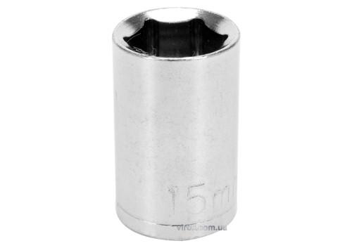 "Головка торцева 6-гранна STHOR : квадрат- 1/2"", М15, з вуглецевої сталі [Блістер]"