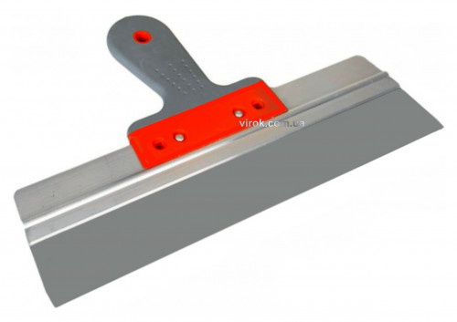 Шпатель фасадний нержавіючий ТМ TYTAN 300x60 мм, двокомпонентна ручка