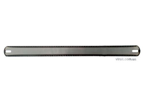 Полотно по металу і дереву  двостороннє TM VIROK 300x25x0,6 мм, для ножівки, уп. 3 шт.