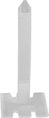 Стяжки для вирівнювання плитки VOREL, мінімальний стик 0.75 мм, плитка 3-40 мм, 100 шт.