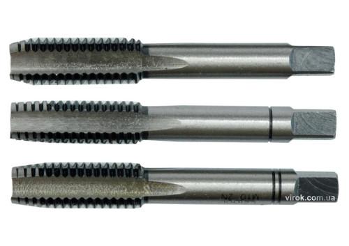 Мітчик VOREL М18 х 2.5 мм 95 мм 3 шт