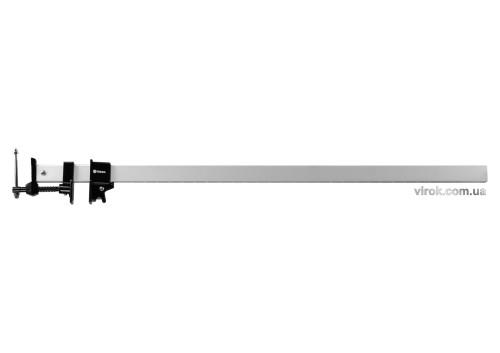 Струбцина-вайма з алюмінієвою рейкою VOREL 900 мм