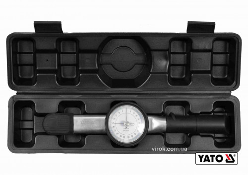 """Ключ динамометричний стрілковий YATO 3/8"""" 5-50 Нм"""