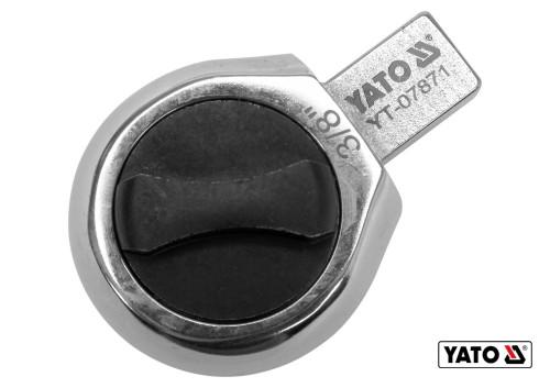 "Головка динамометричного ключа YATO 9-12 мм 3/8"""