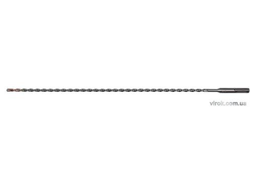 Свердло по залізобетону SDS Plus Premium Х-тип YATO 6 х 460 мм з 4 різальними пругами