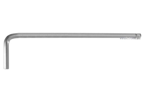 Ключ шестигранний Г-подібний з кулькою YATO HEX 2 x 16 х 83 мм