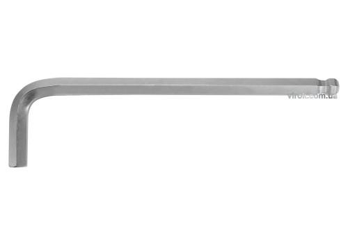 Ключ шестигранний Г-подібний з кулькою YATO HEX 12 x 45 х 212 мм