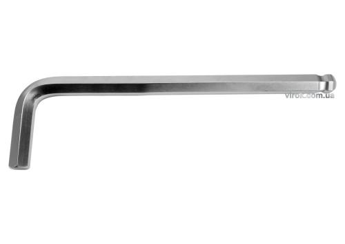 Ключ шестигранний Г-подібний з кулькою YATO HEX 17 x 63 х 250 мм
