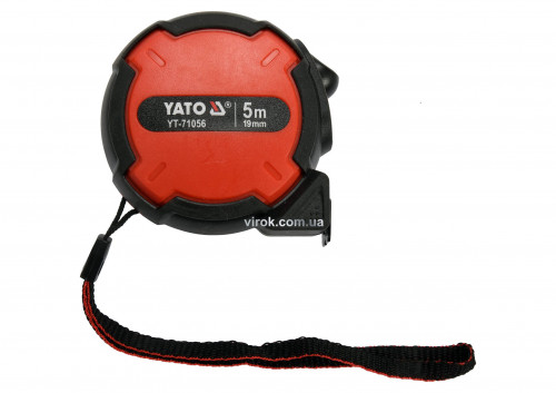 Рулетка з нейлоновим покриттям YATO 5 м х 19 мм