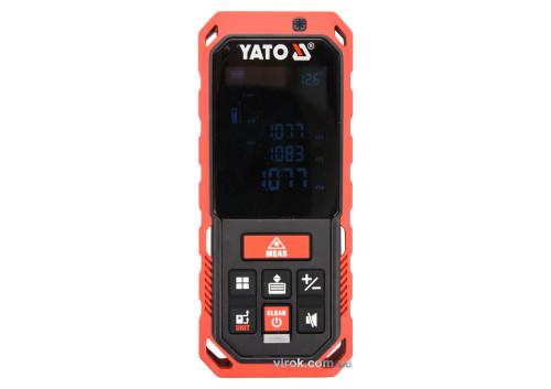 Дальномір лазерний YATO 0.2-40 м 10 режимів