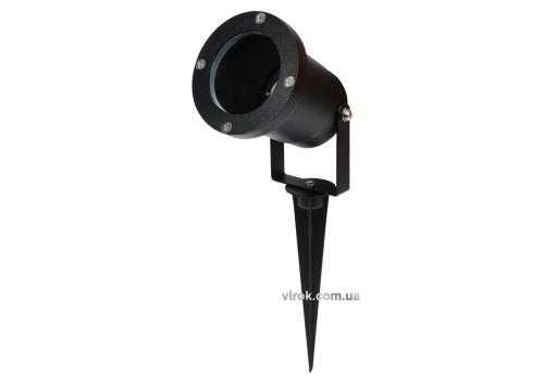 Прожектор діодний, садибний, мережевий YATO на піці, 35 Вт, 315х 92 мм, GU10, кабель- 18 см