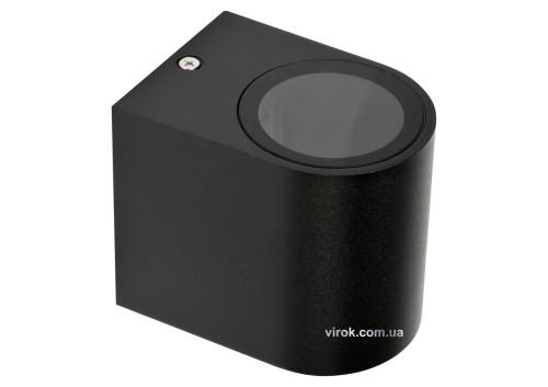 Світильник 1-LED настінний, мережевий YATO, півовальний, 35 Вт, 68 х 81 х 92 мм, цоколь GU10