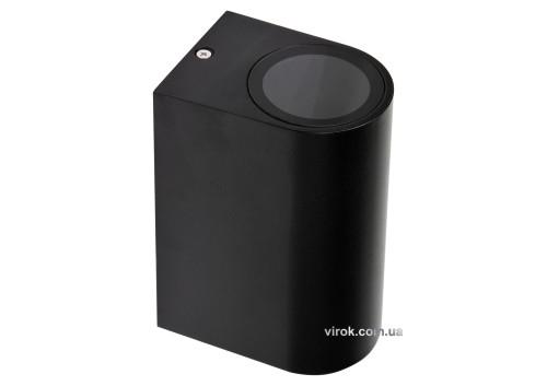 Світильник 2-LED настінний, мережевий YATO, півовальний, 35 Вт, 68 х 150 х 92 мм, цоколь GU10