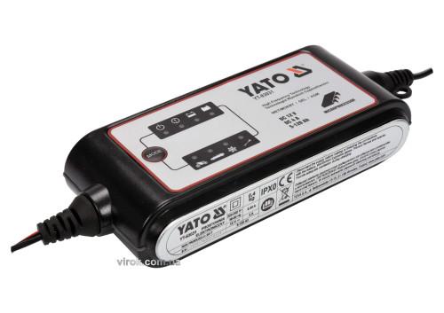 Перетворювач напруги з мережі 230 В AC в 12 В DC YATO 4 А 5-120 Агод