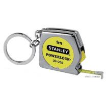 """Рулетка STANLEY """"Powerlock"""" 1 м з кільцем для ключів"""
