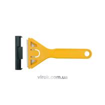 Скребок для здирання фарби пластиковий VOREL 60 мм