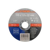 Диск відрізний по металу STHOR 115 х 22 мм