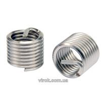 Вставки спіральні для ремонту різьби YATO М8 х 1.25 х 10.8 мм 20 шт