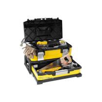 """Ящик для інструменту  STANLEY професійний 2-секційний металопластмасовий; 20""""/ 54,5х 28х 33,5 см"""