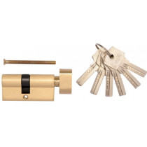 Серцевина замка латунна VOREL 72 мм 31/41 мм 6 ключів
