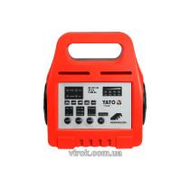 Зарядний прилад YATO 6/12V 8А 5-200Ah