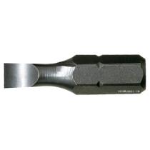 """Насадка викруткова USH 1/4"""" плоска SL5.5 х 0.8 x 25 мм 10 шт"""