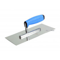 Терка з нержавіючої сталі ТМ VIROK PROFI 270 x 130 мм двокомпонентна ручка