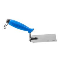 Кельма штукатурна з нержавійки PROFI , двокомпонентна ручка, 80 мм , ТМ VIROK