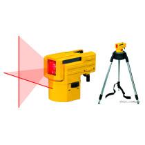 Рівень-проектор лазерний верт. і гориз. ліній STABILA LAX 50 на штативі з телескоп. ніжками; l=10 м