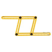 Шаблон - лінійка VOREL для переносу вимірів, 310 х 175 х 25 мм