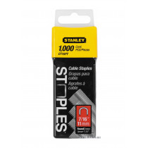 """Скоби для кріплення кабеля STANLEY """"S"""" 11 мм 1000 шт"""
