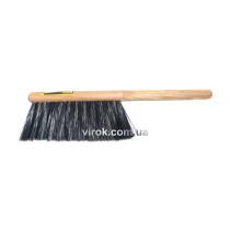 """Щітка для змітання з кінського волосся+поліпропілен ТМ """"VIROK"""" 370х40 мм"""