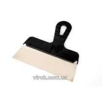 Шпатель малярний пластмасова ручка нержавійка 350 мм [50]