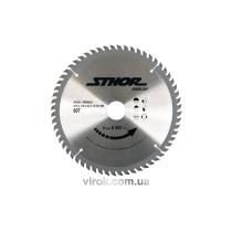Диск пильний по дереву STHOR 210 х 30 х 2.2 мм 60 зубів
