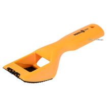 Рашпиль для гіпсокартону VOREL 60 х 40 мм пластиковий корпус