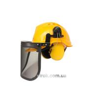 Каска лісоруба VOREL для захисту+ щиток+навушники