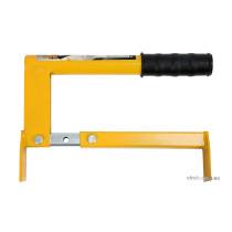 Захват ручний VOREL для бруківки, бордюрів, з регуляцією, ширина захвату- 28-50 см