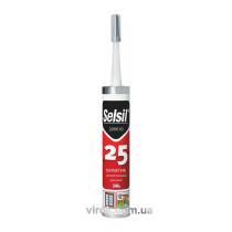 Герметик поліуретановий для дахів чорний SELSIL PU 25 300 мл