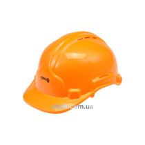 Каска для захисту голови VOREL оранжева