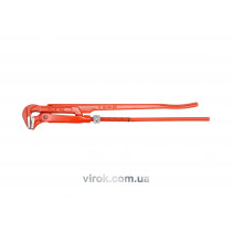 """Ключ трубний VOREL 2"""", 90° з карбонової сталі"""