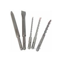 Набір свердл SDS-Plus AEG 6, 8, 10 мм 160 мм + долота 200 мм і 200 x 20 мм 5 шт в футлярі (4932352653)