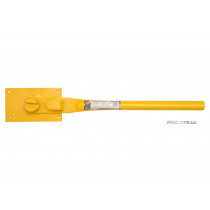 Прутозгинач VOREL ручний для металевих стержнів Ø=10-12 мм; роб. площина- 25х16х6 мм