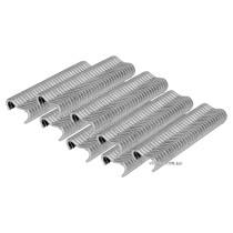 """Скоби стягувальні обгороджувальну сітку VOREL тип """"Е"""" FI 2 мм до щипців 49840, пак. 600 шт"""