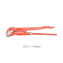 """Ключ трубний VOREL 1"""", 45° з карбонової сталі"""