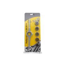 Набір плашок VIROK М4-10 сталь 9ХС 6 шт