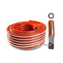 """Шланг ПХВ водяний , """"SPECIAL"""" оранж. з роб. тиск. 0,8 МПа, Ø=1"""", t=2,9 мм, l= 30 м"""