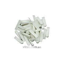Клини для плитки VOREL 37х7 мм, уп. 50 шт.
