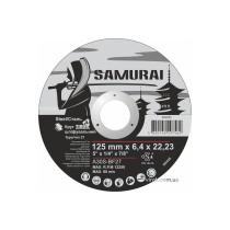 """Круг шліфувальний по металу A30S-BF27  SAMURAY ТМ """"VIROK""""; Ø= 125 х 22.23 мм, t= 6.4 мм"""